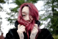 (Stefano☆Majno) Tags: me girl beauty set canon eyes lies battle piercing sensual redhead shooting liar giulia stefano tattoed majno
