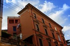 Bologna, Italy, buildings (renkata23) Tags: trip travel italy colors architecture buildings nikon bologna sunnyday