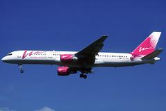 Vim Airlines B757-230 RA-73009 BCN 18/09/2004 (jordi757) Tags: barcelona nikon airplanes bcn kodachrome boeing 757 f90x kodachrome64 avions elprat b757 b757200 lebl vimairlines vimavia ra73009