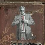 Cravate ou Corde - Urban Art - Barcelone thumbnail