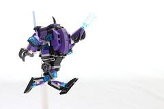 Nixels Mech Walker (dvdliu) Tags: lego walker scifi mech
