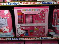 "Hello Kitty ""Ultimate Art Pack"" (Jay Tilston) Tags: hello art kitty stationery materials"