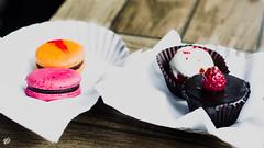 [244] - the sweet stuff (jathdreams) Tags: food 50mm nikon chocolate grunge rustic macaroon bakery mumbai quaint pastery redvelvet palihills raspberrycupcake orangedarkchocolate le15 nikond5100 le15patisseire bandrawesr redvelvetchoux