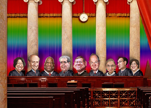 US Supreme Court - Ruling or Not on Gay Marriage, From FlickrPhotos