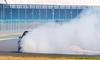 Up in smoke (technodean2000) Tags: uk up car nikon smoke drift trax lightroom 2014 photoscape d5200