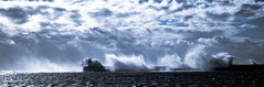 stormy sea,s