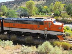 The Royal Gorge Route (Patricia Henschen) Tags: royalgorgeroute royalgorge canoncitycolorado arkansasriver railroad locomotive vistadome denverriogrande usroute50