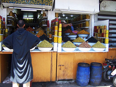 Spice souk, Djemaa el Fna, Marrakech (Abigail Edge) Tags: travel northafrica morocco marrakech souk