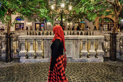 The Red Veil (Triyadi Wijaya) Tags: street travel people night lens candid sony small streetphotography z kit traveling alpha sel 16mm ep compact nightstreet humaninterest ilce 1650 lenskit interchangable mirrorless 1650mm a6000 sel1650 sel1650mm alpha6000 ilce6000