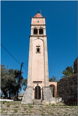 Ipapanti bell tower (Maria-H) Tags: church island belltower greece paxos ionian 1235 pansonic gh4 ipapanti ypapanti dmcgh4 rantatika