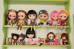 The little green shelf...