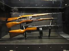 Warsaw Uprising Museum (Stewie1980) Tags: museum canon gun rifle poland polska powershot polen warsaw muzeum warszawa uprising 41 38 m38 carbine warschau powstania warszawskiego mosinnagant mosin ppsh sx130 svt40 ppsh41 sx130is canonpowershotsx130is swt40