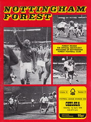 Nottingham Forest vs Chelsea - 1978 - Cover Page (The Sky Strikers) Tags: city nottingham chris cup forest woods chelsea ground winners league