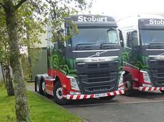 H4986 - KM63 ZZE (Cammies Transport Photography) Tags: road truck volvo diane lorry nancy eddie carlisle fh esl stobart eddiestobart brunthill h4986 km63zze