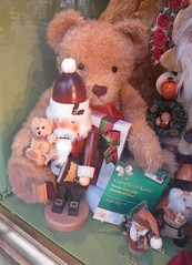 toys for christmas (squeezemonkey) Tags: bear berlin window shop toys display german woodensoldier käthewohlfahrt