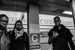 Candid train (CharlieWinters) Tags: chicago canon subway cta publictransportation eltrain redline peoplewatching chicagotransitauthority chicagoredline