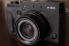 camera black japan lens tokyo zoom body fujifilm digitalcamera x30 2014 xseries fujifilmx 28112mm strapeyelet microphonelr fujinon4xopticalzoomlens f20widef28telephoto fujiflmx30