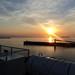 Atardecer desde la cubierta del barco Eladia Isabel