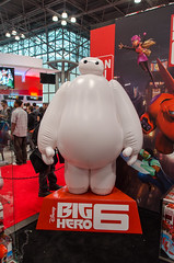 Big Hero 6 Display (vince.ng86) Tags: 6 big hero comiccon nycc nycc2014