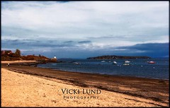 October Coastline (Vicki Lund Photography) Tags: ocean lighthouse beach water clouds coast maine atlantic eastcoast cumberlandcounty springpoint maineartist mainephotographer colorsnatural httponfbmevickilundphotographywelcome httpaboutmevickilundphotography