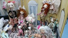 Marbled Halls! (Cyrielle 1) Tags: friends france french stand lyon bjd blythe marble custom dod creatures appi nympheas 2014 enyo lillycat pukipuki ldoll pukifee engendritos thelittlehands dustofdolls icydoll irrealdoll ldoll5