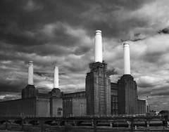 Battersea Power Station (Kurseong I) Tags: building london energy power ruin historic generator coal battersea derelict chimneys