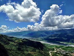 真是氣象萬千 Clouds And Sky Mountains River at 赤柯山