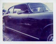 (Matt Chalky Smith) Tags: car polaroid driving glove driver lancia polaroid195 iduv expired2005 roidweek