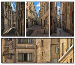Quatriptyque dans les rues de Perpignan (www.darnoc.fr) Tags: france photoshop canon eos soleil ciel terre campagne vignes paysages lightroom 6d 24105 pyrnesorientales quadriptyque 24105mm ef24105mmf4lisusm eos6d