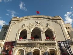 Thtre municipal, Tunis () (twiga_swala) Tags: building art architecture theater theatre tunisia tunis artnouveau nouveau thatre municipal tunisie monumental