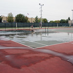 Washing the courts