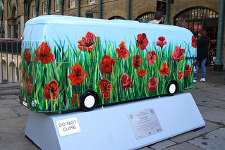 London Routemaster Bus Art-Poppy Fields(Explored)