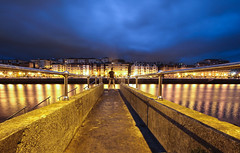 IN FRONT (Rober1000x) Tags: longexposure summer night europa europe country bilbao verano basque portugalete bilbo paisvasco paysbasque 2014