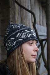 handknit hat (SandraStJu) Tags: winter wool hat knitting pattern handmade handknit clothes cap accessories knits mittens knited