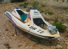 Old Battered Jetski (Lydie's) Tags: old croatia disused jetski babinkuk