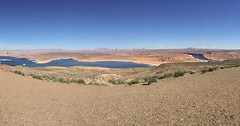 Glen Canyon Recreation Area Pano, from Wahweep Overlook (Sue70) Tags: instagramapp square squareformat iphoneography uploaded:by=instagram southwestusa march2017 pagearizona glencanyon