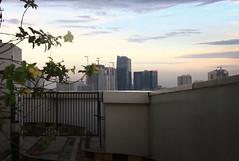 Before the Sunset (vitaraman) Tags: sunset klink tower garden