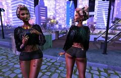 Neon Lights (Indigo Avonside of My Sister's Closet) Tags: indigo ikon besom bbos realevilindustries ryca gorgeousdolls vistaanimations littlebones virtualinsanity letistattoo ultra thechapter4 childrenoftheworldproject2017 kennyrolands lelutka maitreya