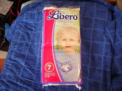 Libero Comfort Fit 7 (FreeFlex version, from 2012) (DiapieDude) Tags: vintagediapers vintagebabydiapers diapers diaper abdl liberodiapers libero liberocomfortfit