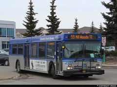 Edmonton Transit System #4502 (vb5215's Transportation Gallery) Tags: ets edmonton transit system 2005 new flyer d40lf