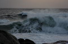 Harsh Atlantic Ocean (@HeydersRyan) Tags: ocean sunset nature harsh cold atlantic capetown sea waves storm rough