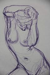 Modelo vivo en freewill sketchclub (jp Boraso) Tags: modelovivo dibujo sketch pencil anatomía modelo lápiz bocetos ilustración