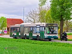 Renault Agora L  - CTS 585 (Pi Eye) Tags: bus autobus strasbourg cus cts eurométropole renault irisbus rvi agora agoral articulé gelenk