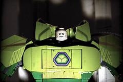 Lex is coming (Frost Bricks) Tags: lego lex luthor mecha power armor moc