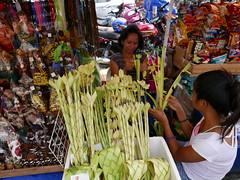 palm sunday preparations (explore) (DOLCEVITALUX) Tags: palmsunday palms palaspas philippines photojournalism