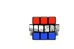 untitled (brescia, italy) (bloodybee) Tags: 365project flag netherlands europe red white blue rubikscube cube mathematics maths geometry science stilllife tulip flower amsterdam skyline