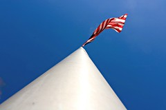 Glory (JPA Davis) Tags: america flag glory oldglory red white blue flagpole sun wind breeze blowing flapping unfurled pride patriotism sky