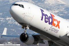 N620FE - McDonnell Douglas MD-11F - FedEx Express (KarlADrage) Tags: n620fe mcdonnelldouglas md11 md11f fedex fedexexpress anc tedstevensintl anchorage alaska freighter cargo