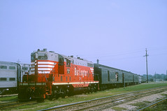 CB&Q GP7 251 (Chuck Zeiler) Tags: cbq gp7 251 burlington railroad aurora train fan trip fantrip chuck zeiler chz