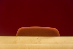 Table, chair and wall (on Explore) (Jan van der Wolf) Tags: map164163v table tafel wall chair stoel muur minimalism minimalistic composition compositie abstract